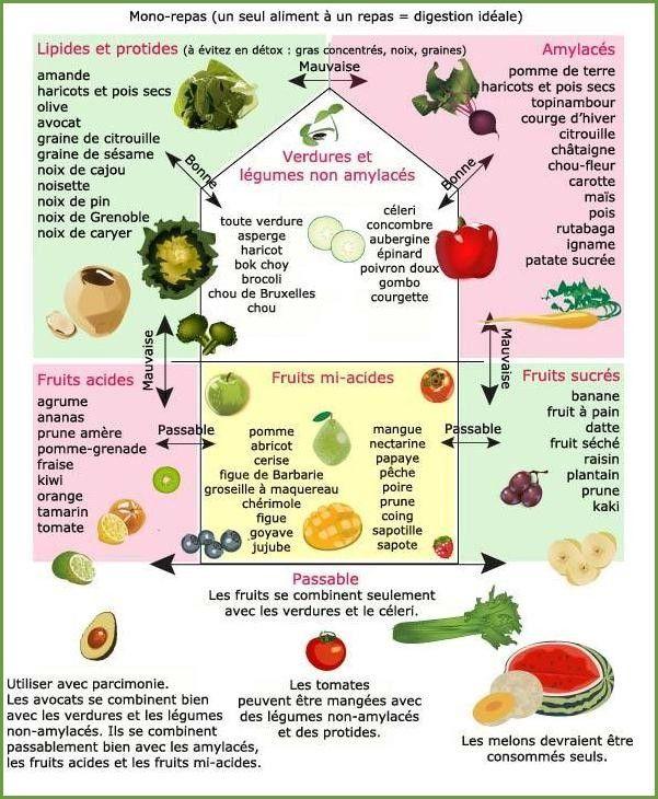 Connu 2. Règles d'Or et Combinaisons Alimentaires | Santé | Pinterest  WD65