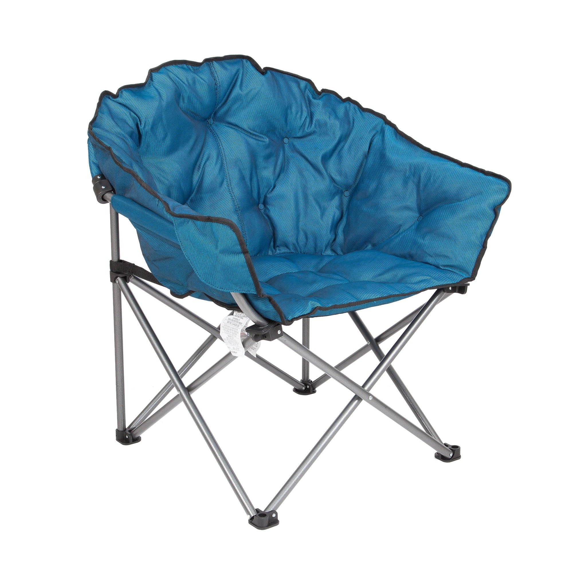 Mac Sports Folding Padded Outdoor Club Camping Chair With
