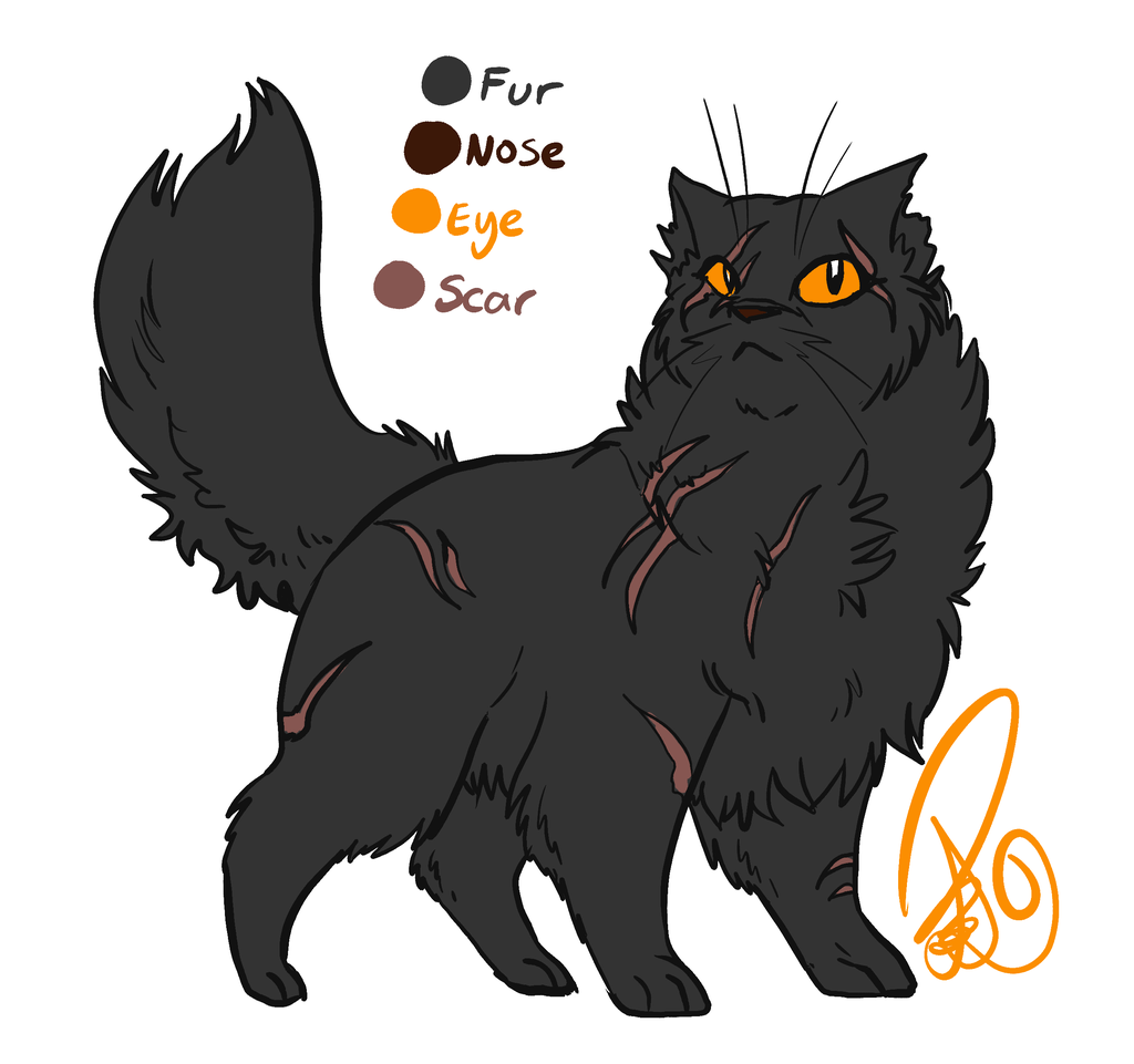Yellowfang by on DeviantArt Feral