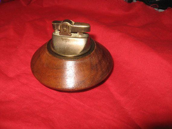 Vintage Estate cigar or cigarette table lighter by OsanyinPipes, $25.00