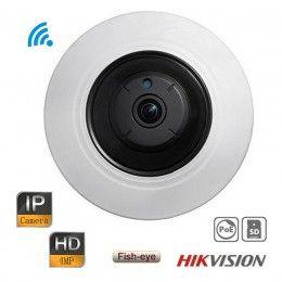 Hikvision Fisheye Ip Camera Hd 4mp Security Wireless Wifi Network Ir 360 Panorama Poe Ip Camera Wifi Network Camera