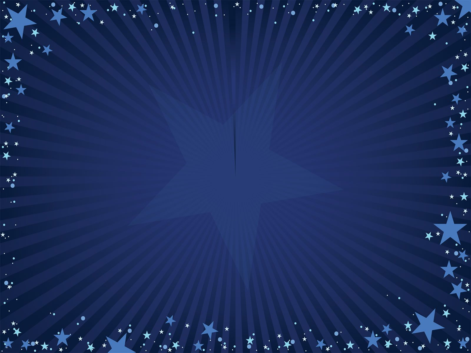 This Free Blue Stars Powerpoint Template Is A Simple Background