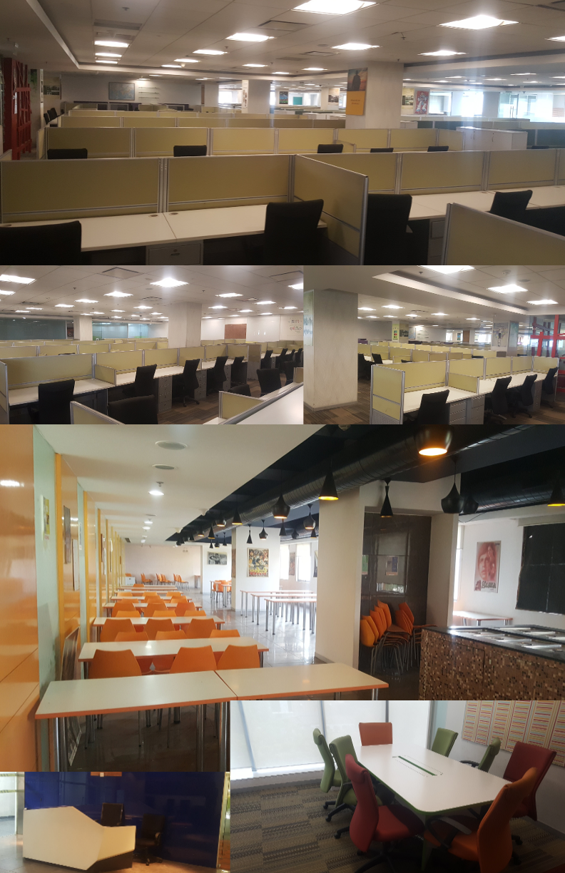 50000 Sq Ft FURNISHED OFFICE SPACE available in udyog vihar