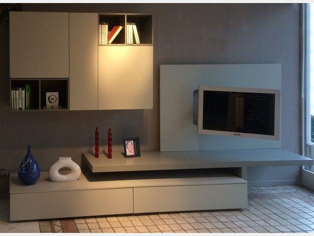 Soggiorno componibile San Giacomo Living System-Lampo ...