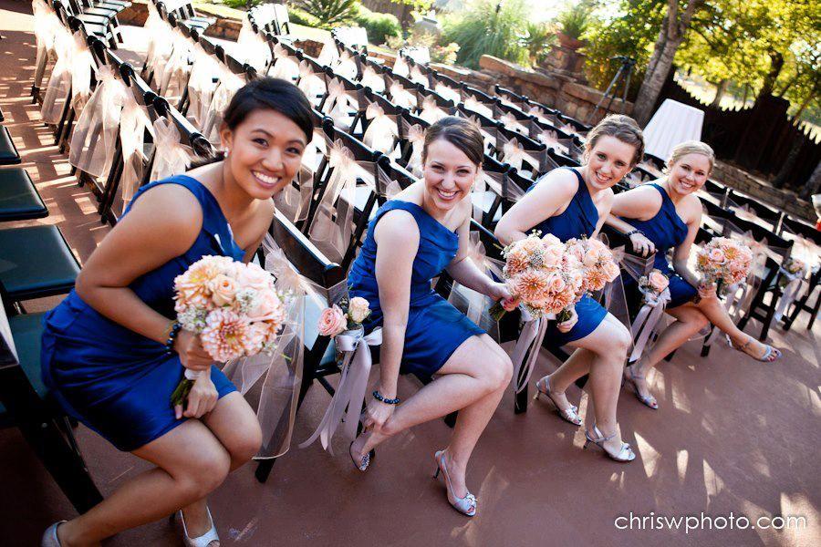 Gorgeous bridesmaids! Copyright © Chris Wineinger Photography www.chriswphoto.com #agaveestates