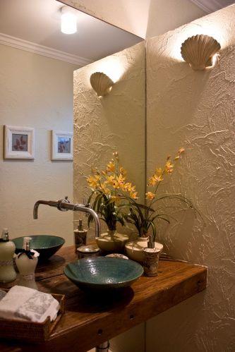 Lavabos veja projetos charmosos para esses pequenos espaços - lavabos pequeos
