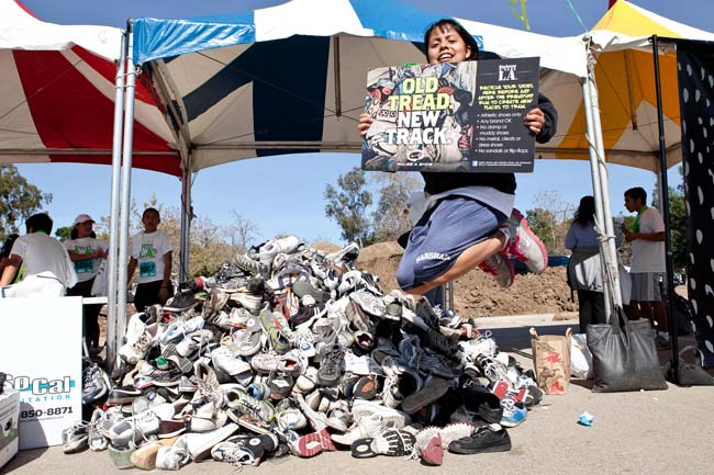 shoes are recycled into Nike Grind
