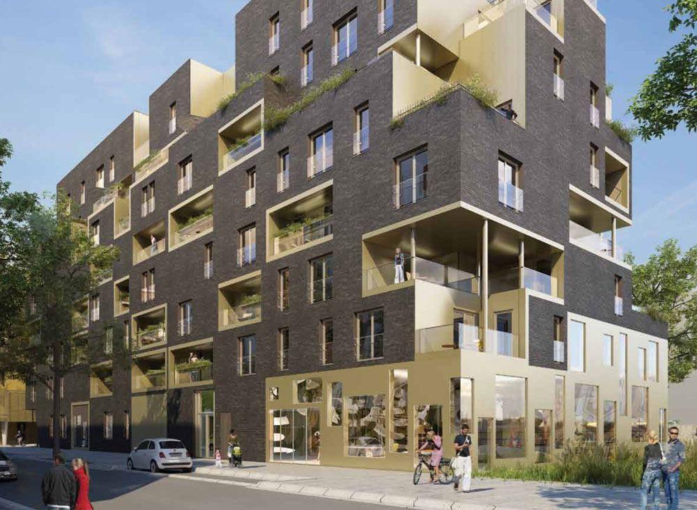 Le programme neuf carat situ dans la ville de boulogne for Boulogne billancourt piscine
