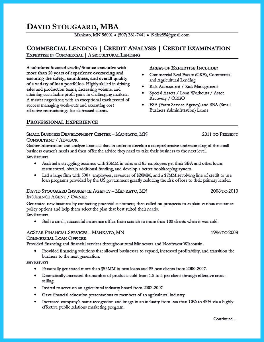 Cool Cool Credit Analyst Resume Example From Professional Check More At Http Snefci Org Cool Cred Professional Resume Examples Sample Resume Resume Examples