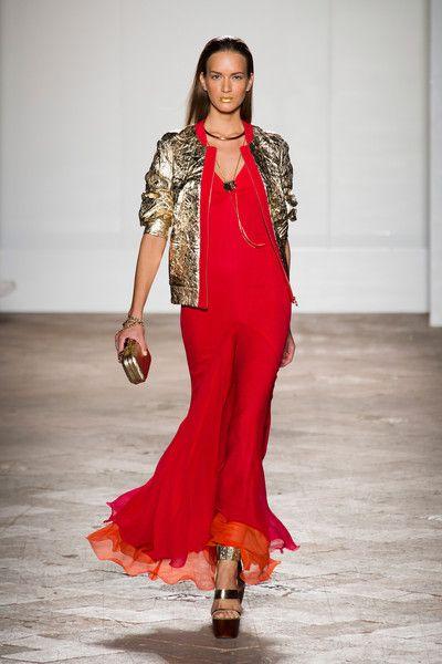 Aigner at Milan Fashion Week Spring 2014 - StyleBistro