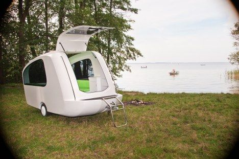 Amphibious Camping Trailer Morphs From Tent Into Boat