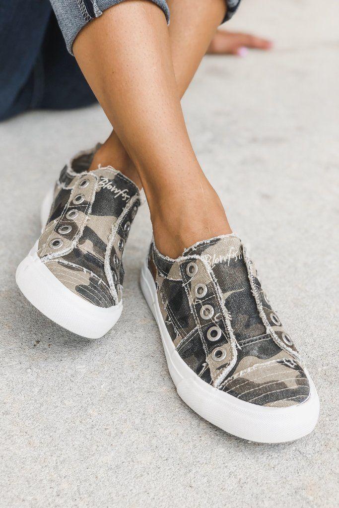 BLOWFISH Play Slip On Sneaker Camo