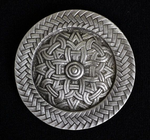 Delightful Viking Celtic Pewter Brooch | Celtic Jewelry | Viking Jewelry | Medieval  Jewelry | Handcrafted Jewelry | By Treasure Cast Pewter
