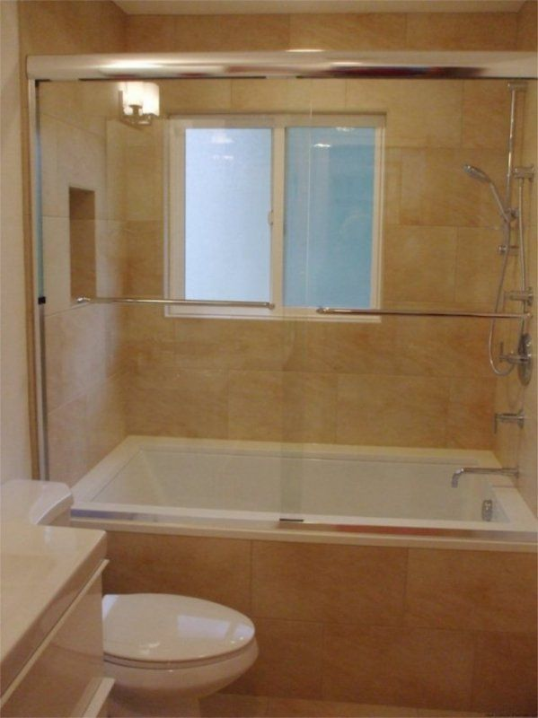 European soaking tub shower combination bath for Deep built in bathtubs