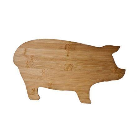 Pig Cutting Board.