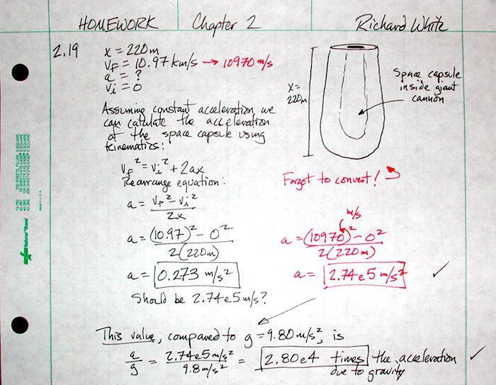 Physics Assignment