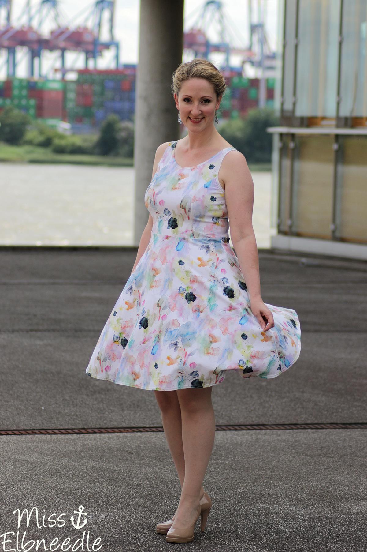 Miss_Elbneedle #Fashion #Elbe #Pastell #Kleid #Dress #Summerdress
