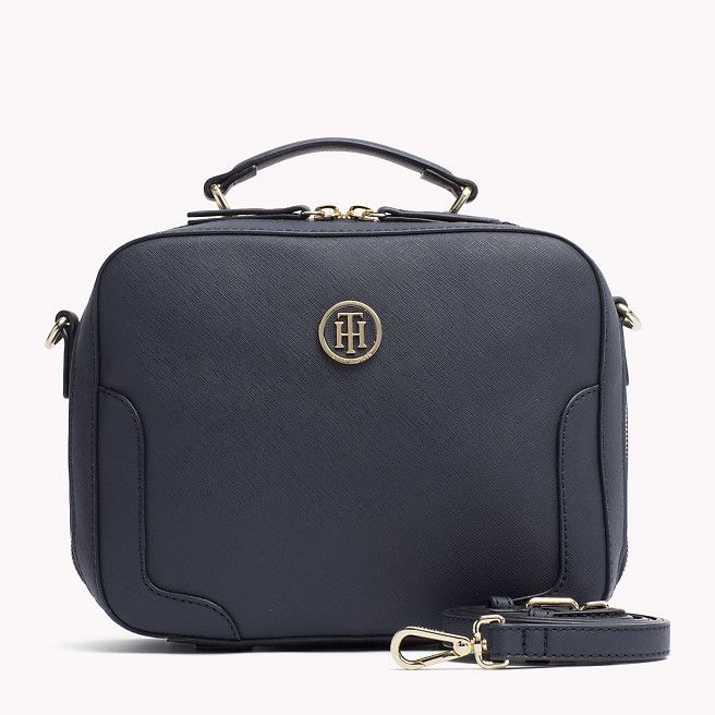Tommy Hilfiger Saffiano Trunk Bag - tommy navy (Blue) - Tommy Hilfiger Duffle Bags - main image