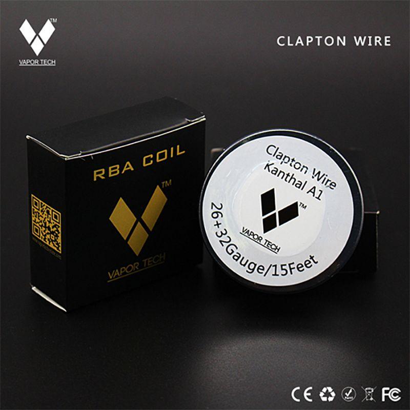 vapor tech clapton wire kanthal a1 26ga + 32ga 15ft 5m | VAPE COILS ...
