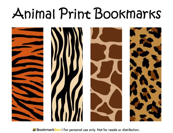 Free printable animal print bookmarks the patterns include giraffe free printable animal print bookmarks the patterns include giraffe print leopard print tiger toneelgroepblik Gallery