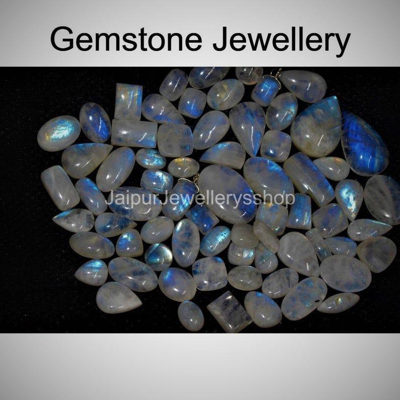 Moonstone Gemstone Loose Moonstone Stone Moonstone jewelry Moonstone Natural Moonstone Cabochon Unique Rainbow Moonstone Cabochon