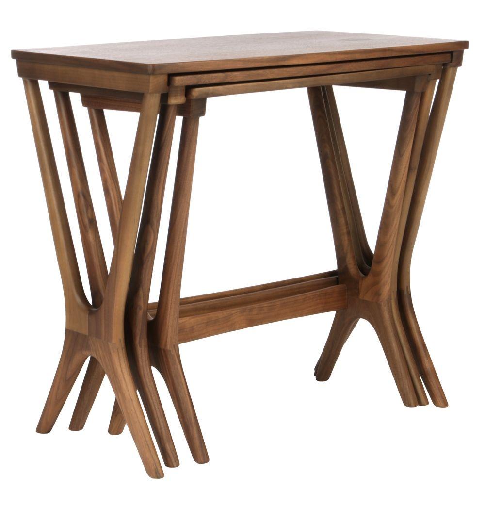 Burma Set of 3 Tables - Matt Blatt  sc 1 st  Pinterest & Burma Set of 3 Tables | Tables Furniture ideas and Foyers