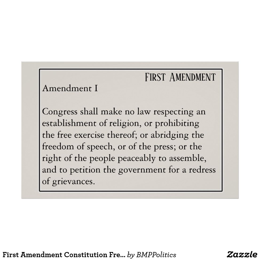"""american constitution and freedom of speech """"it's firmly established us law that the rights of the constitution  the free  exercise thereof or abridging the freedom of speech, or of the press."""