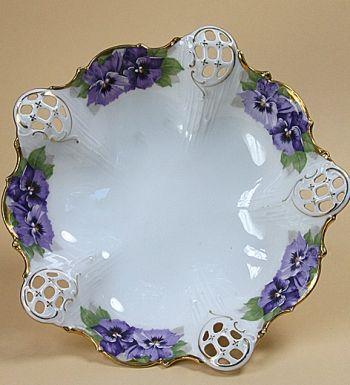 Kristall & Dahlia online shop | antique porcelain & crockery | antiques & art | Art nouveau bowl Rosenthal/Viktoria Luise Moliere** | antiques & porcelain & crockery