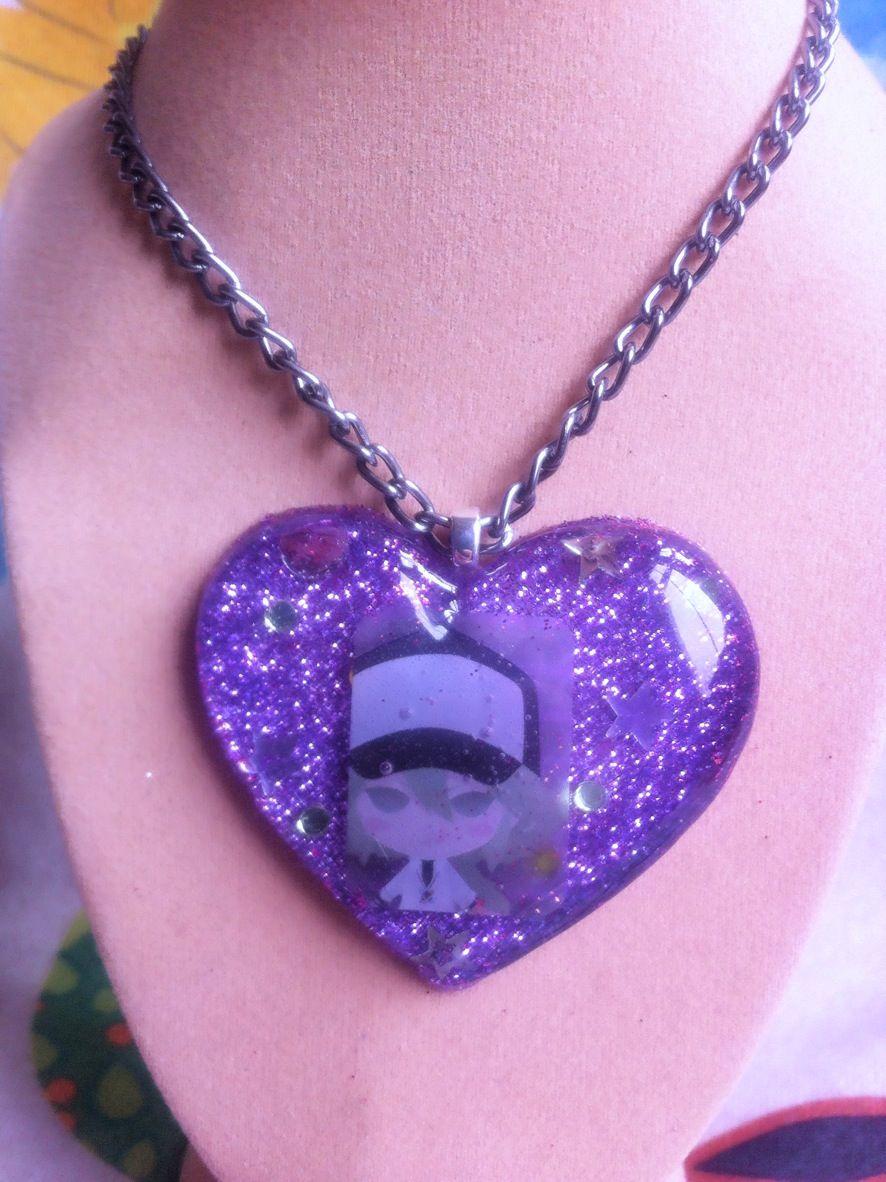 Pokemon N Heart Necklace