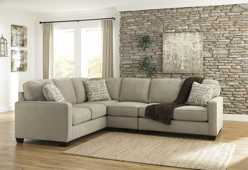Signature Design By Ashley Alenya 3 Pc Sectional Sofa 16600 Beige Sectional Sectional Sofa Ashley Sectional