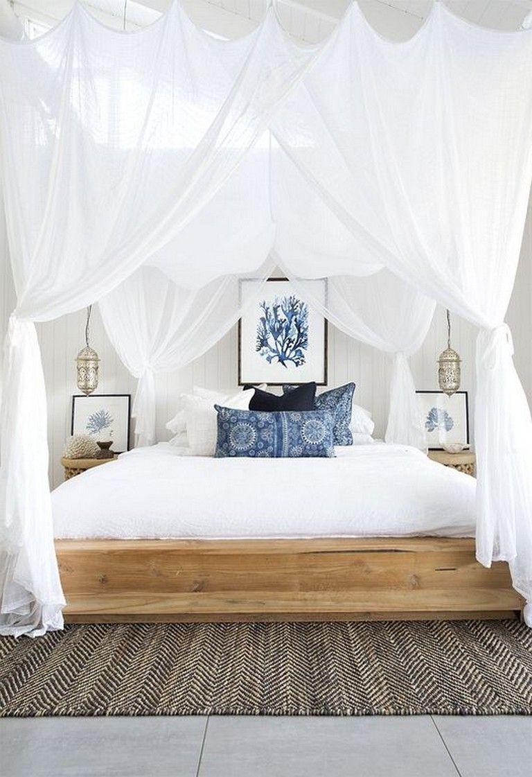 Best 21 Awesome Modern Coastal Bedroom Design Decorating Ideas 640 x 480