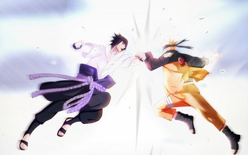 Wallpaper Naruto Uzumaki Sasuke Uchiha Anime Fight Sasuke Uchiha Naruto Uzumaki Naruto Vs Sasuke Final