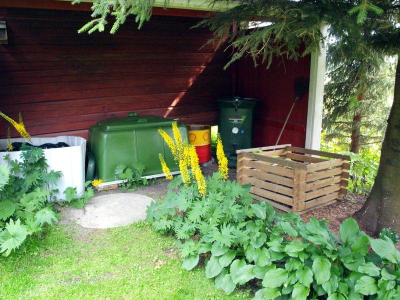 Kaunis kompostialue