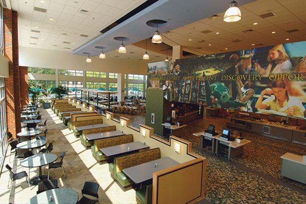 The 7 healthiest college dining halls in 2019 university - Interior design schools in alabama ...