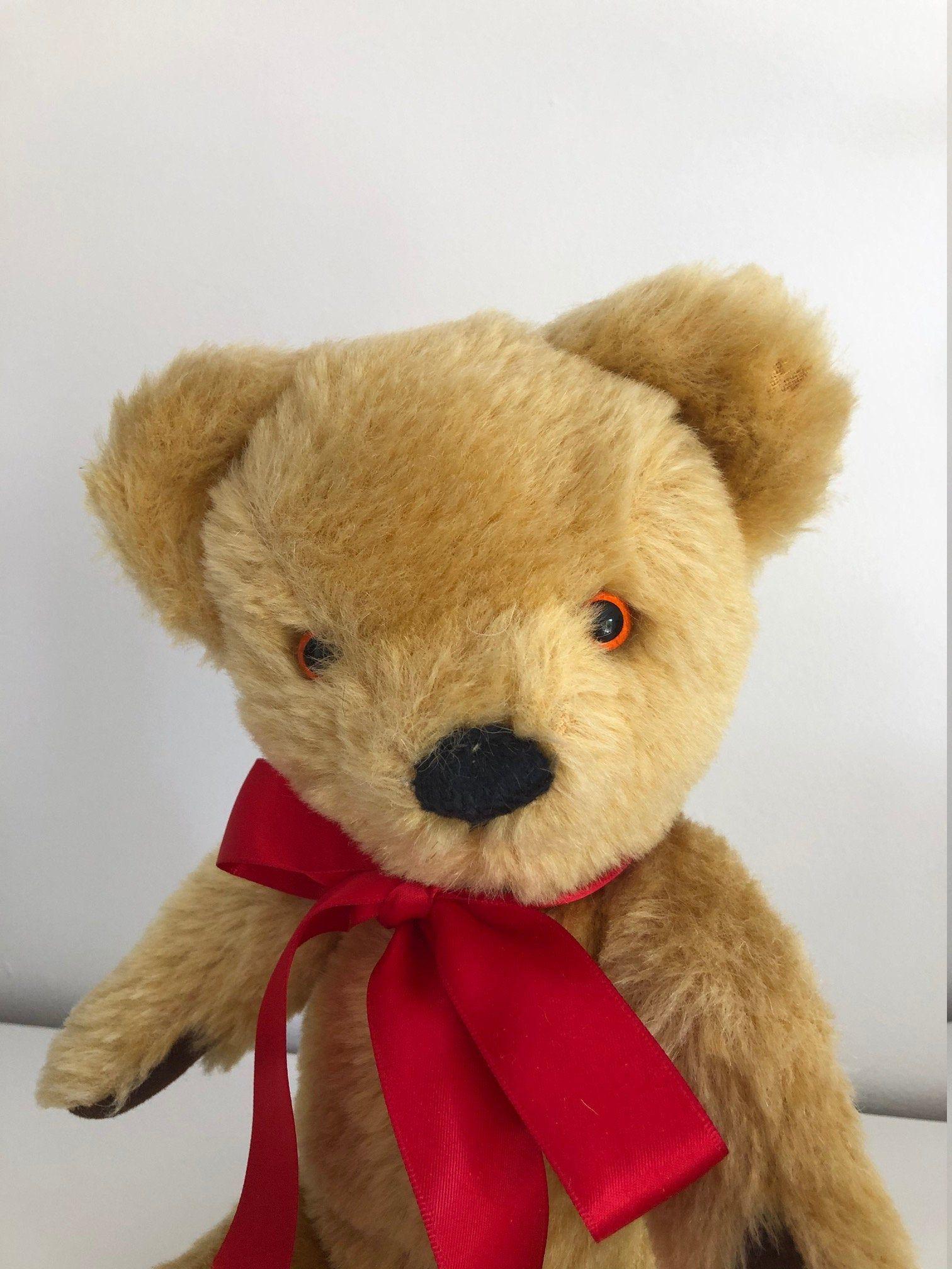 Merrythought 1970 S Teddy Bear Vintage Teddy Bear Teddy Bear