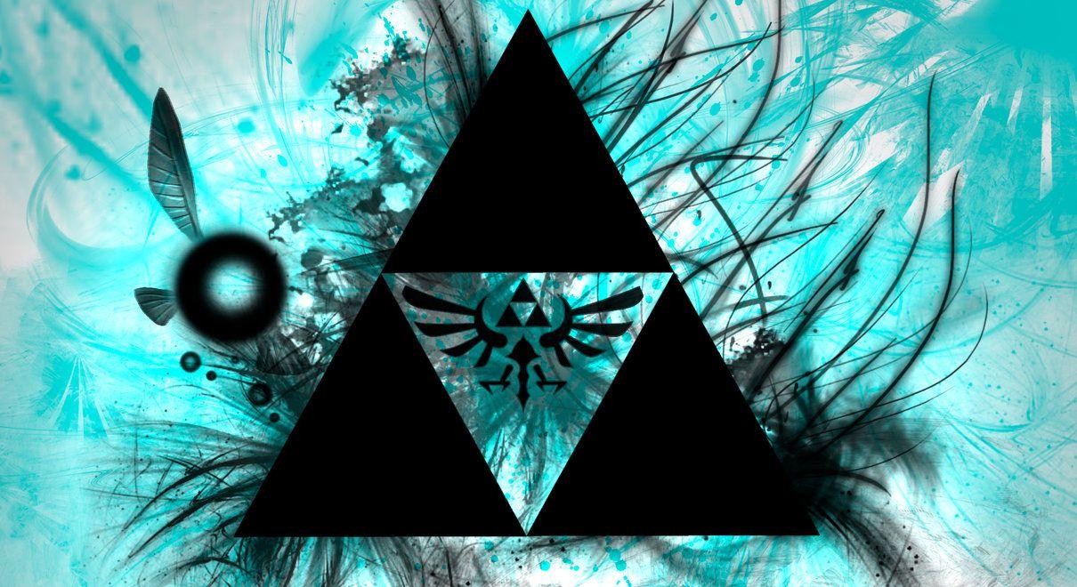 Triforce Legend Of Zelda Triforce Wallpaper