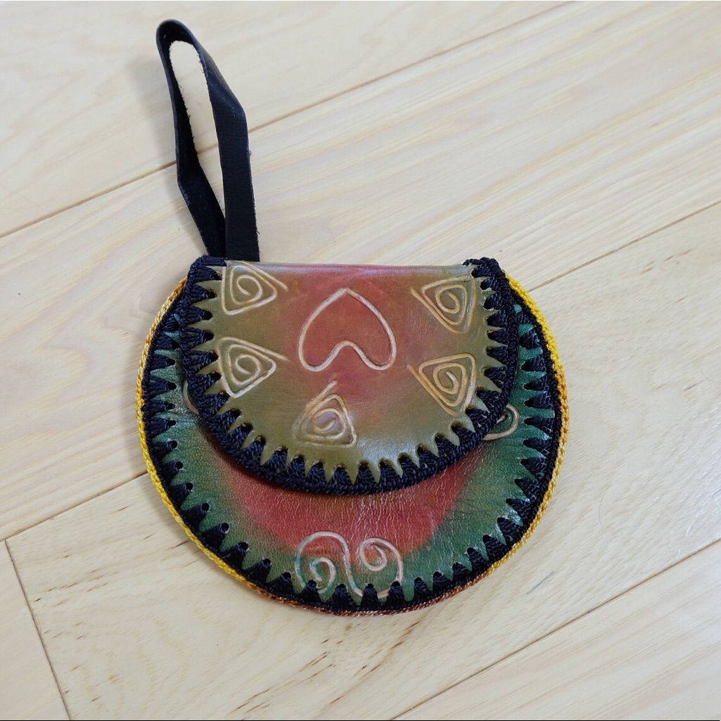 Authentic Colombian Coin Purse