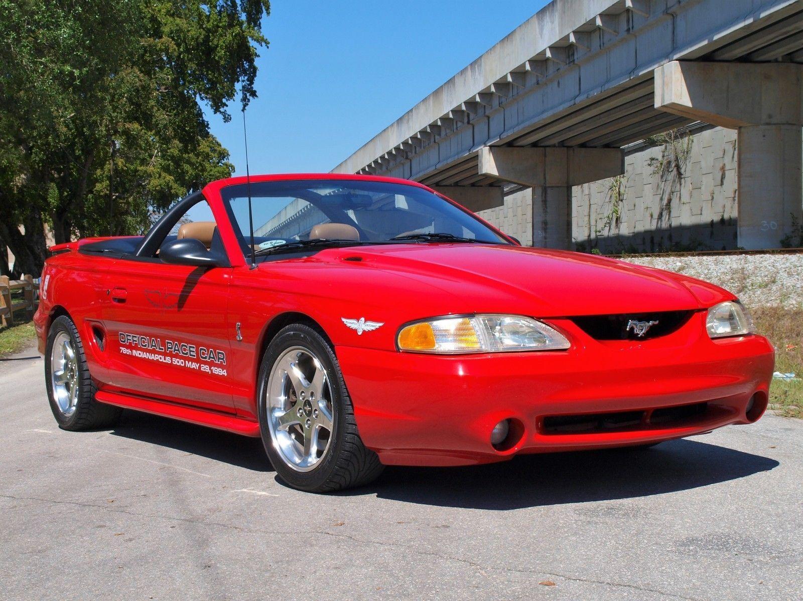 Svt 1994 Ford Ebay Convertible Mustang Cobra