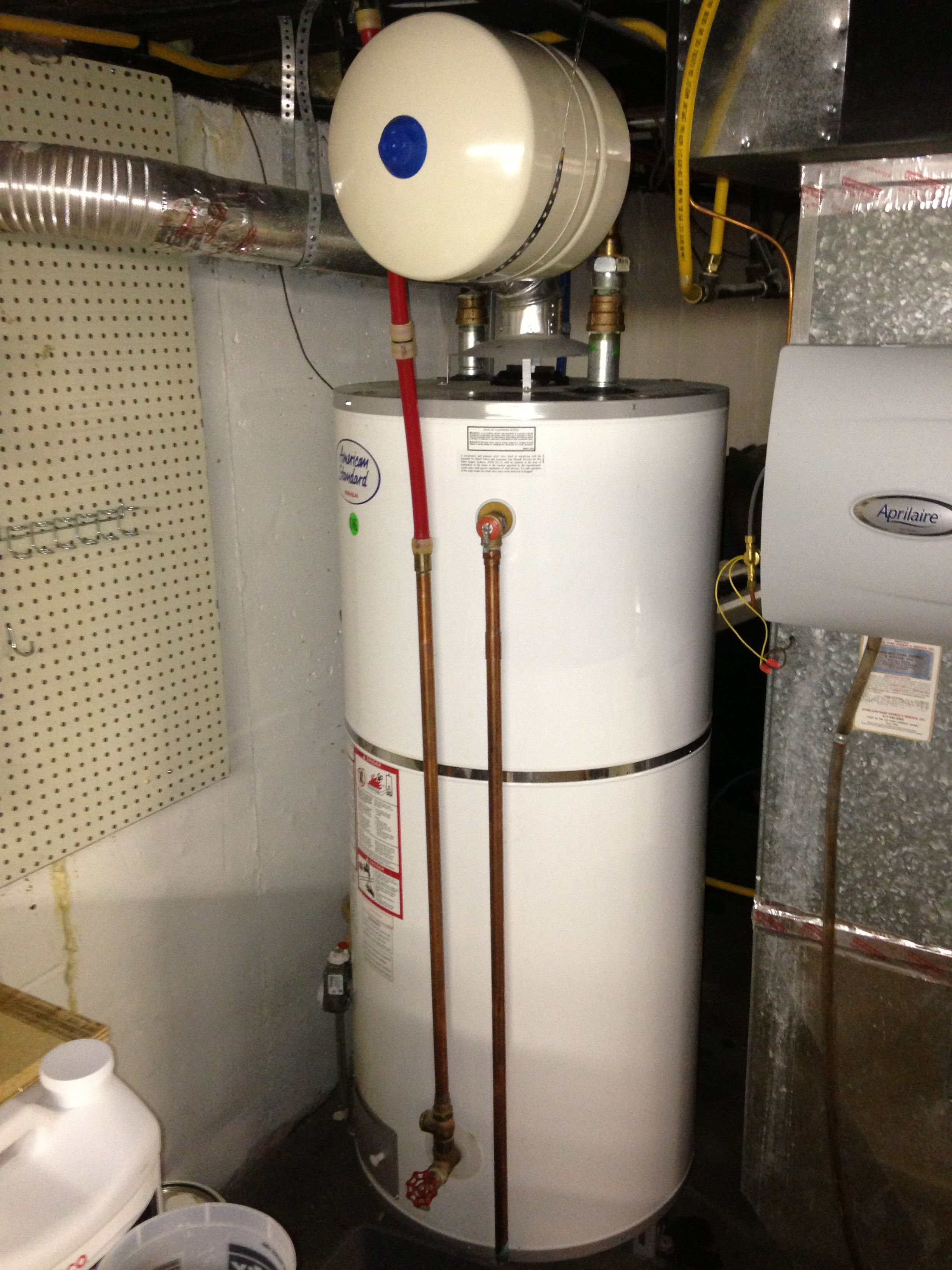 Water Heater Installed In Fairway Ks 66205 With Thermal Expansion Tank Water Heater Installation Thermal Expansion