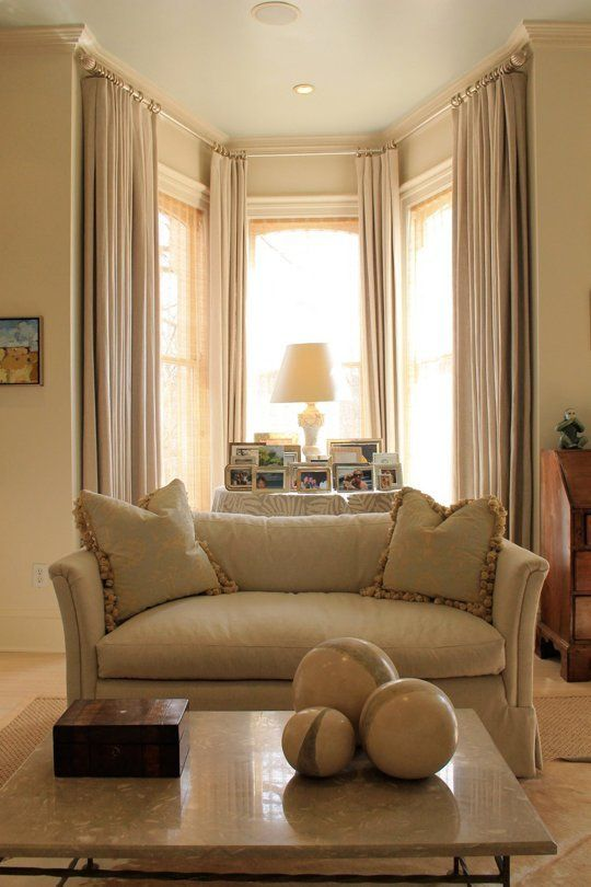 Pro Decorator Tricks To Try Curtains The Same Color As Your Walls