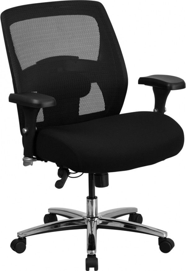 Husky Office Multi Shift 24 7 Big Tall 500 Lb Capacity Chair With Back Adjustment Swivel Office Chair Mesh Office Chair Used Office Chairs