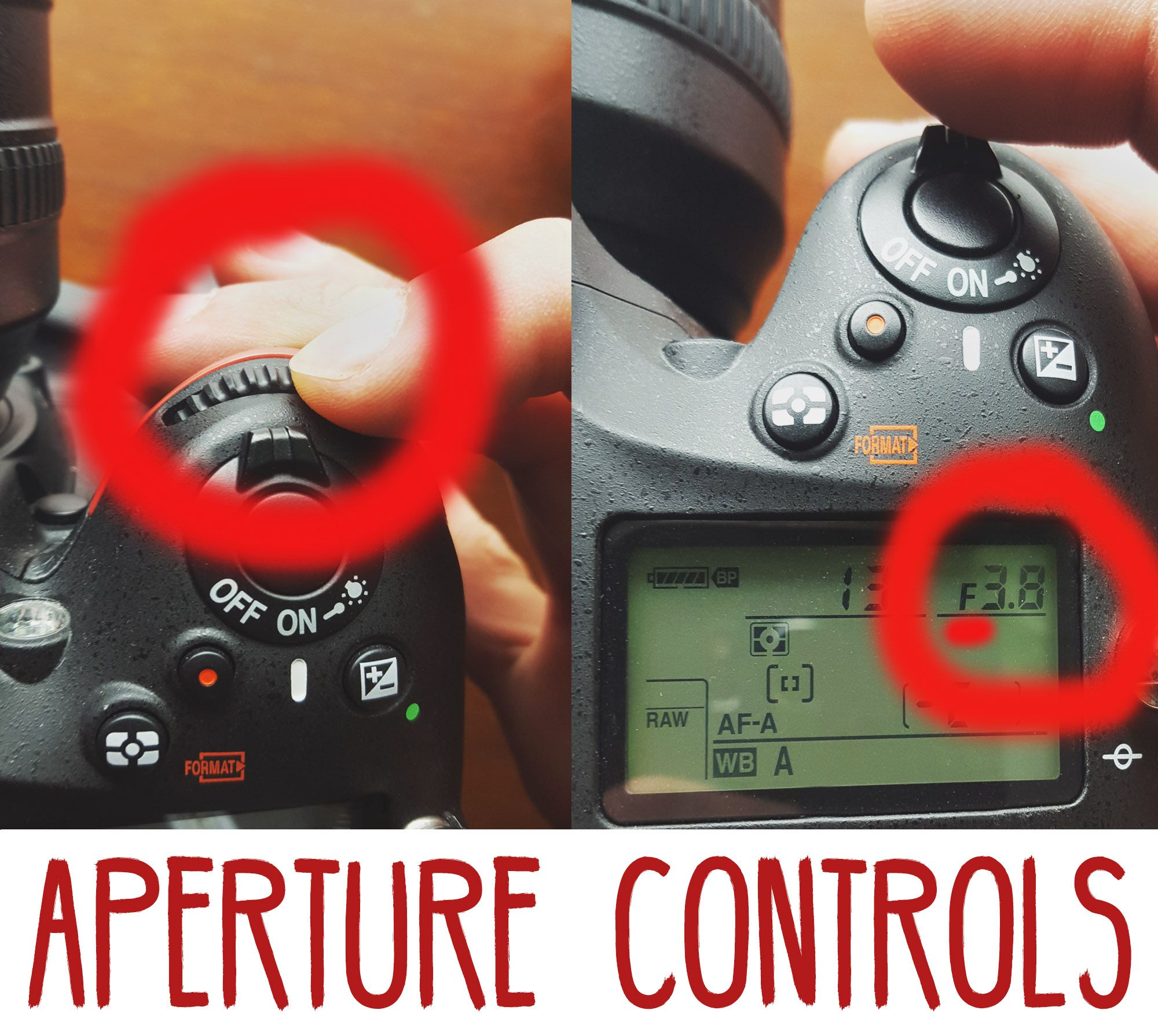 DSLR manual mode - How to control Aperture made simple!