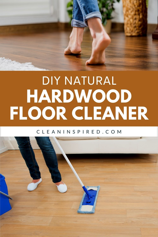 Natural Hardwood Floor Cleaner in 2020 Hardwood floor