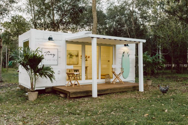 A tiny Florida business delivers big dreams with shipping container studios