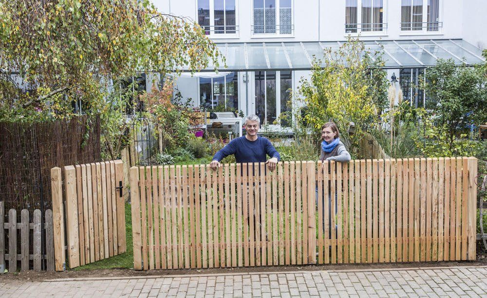 Diy Gartenzaun Selber Aufstellen Zaunpfosten Gartendekoration Zaun
