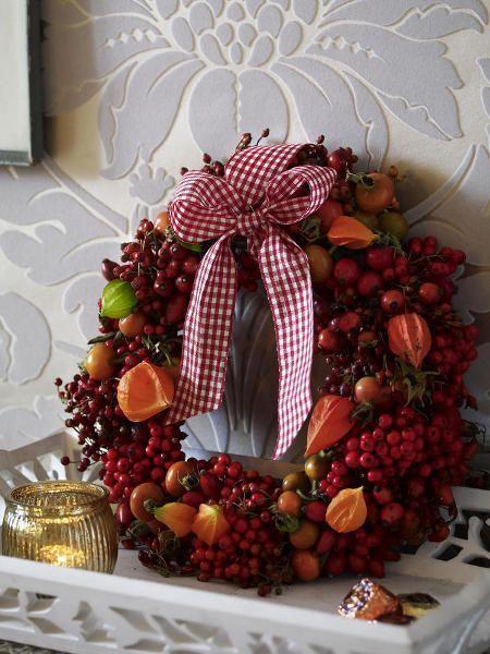 Ideen Zur Dekoration Im Herbst Und Weihnachtszeit, Für Garten Und Haus Zur  Gestaltung Und Inspiration