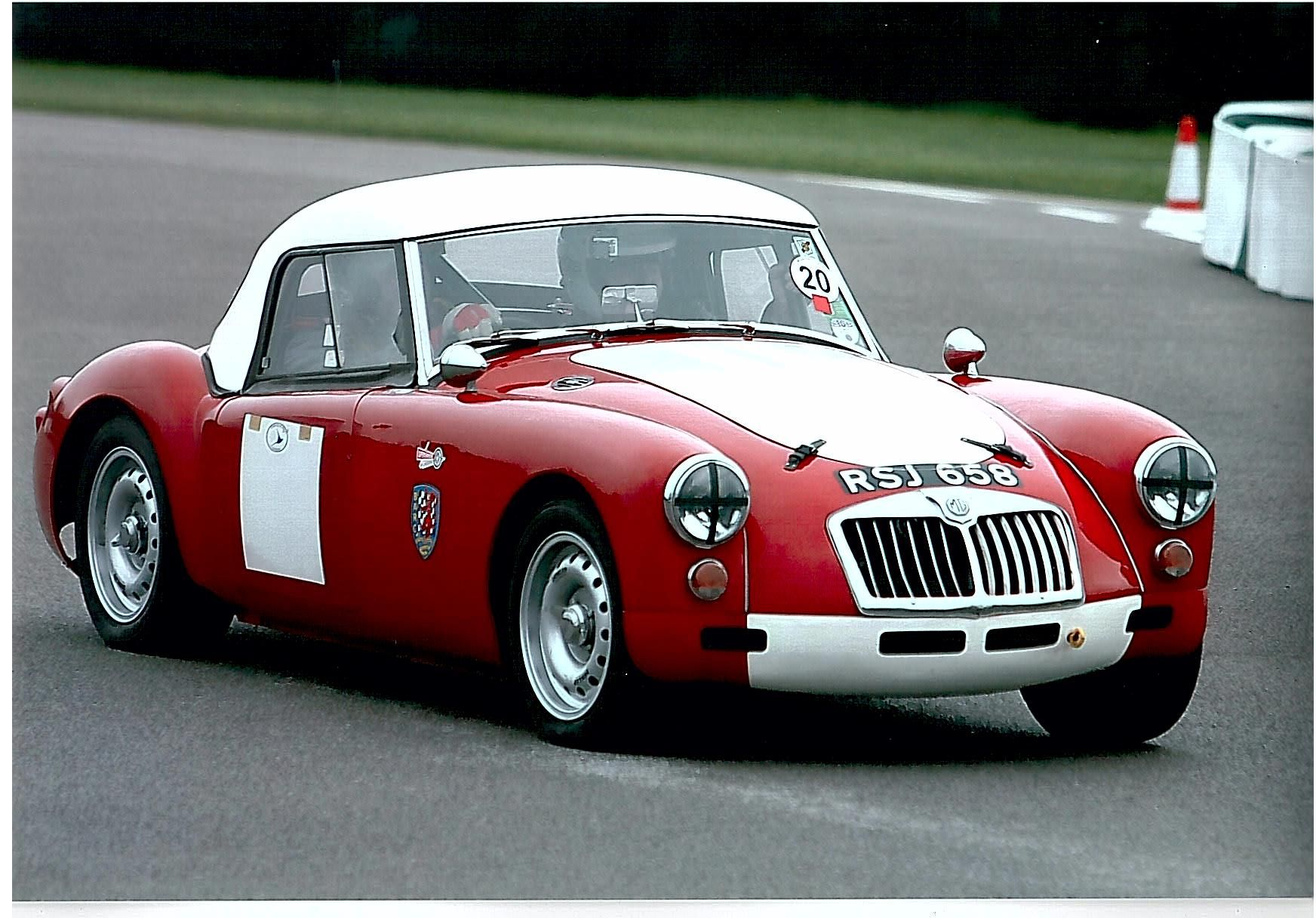 Mg Rsj Goodwood British Sports Cars Goodwood Morris Garages
