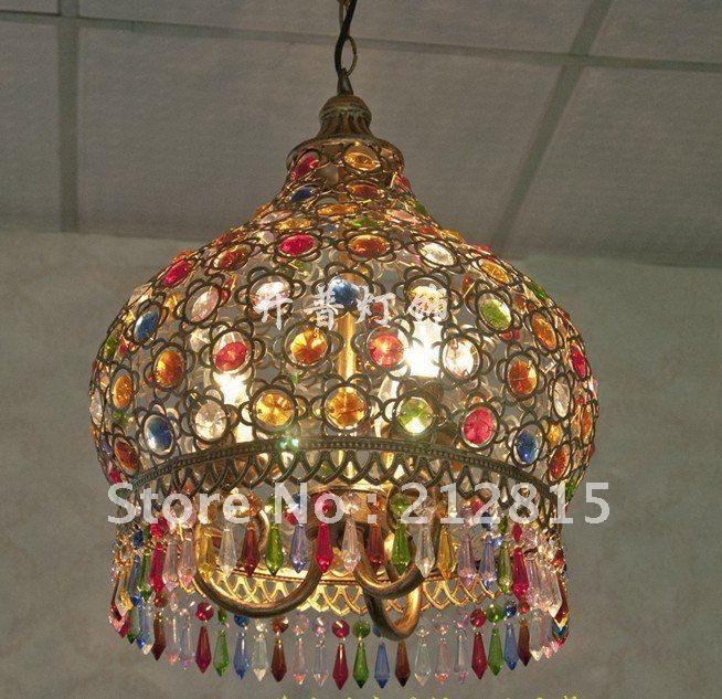 Mediterranean Style Lighting: Bohemia American Country And Mediterranean Style Lighting