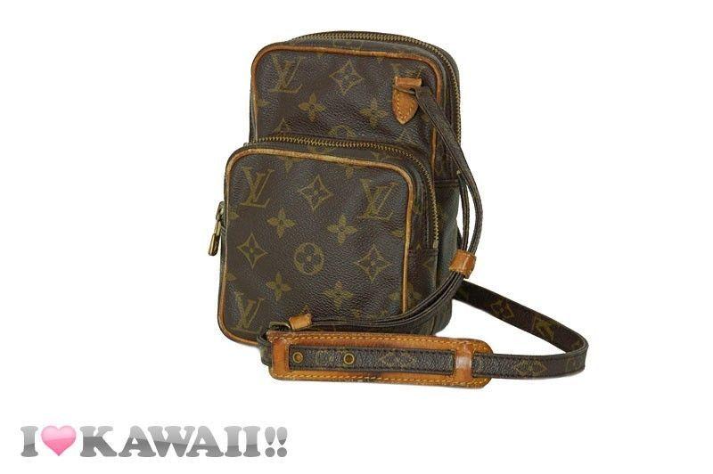 Authentic Louis Vuitton Monogram Amazon Bag Hand Purse Shoulder Free Shipping! #LouisVuitton #ShoulderBag