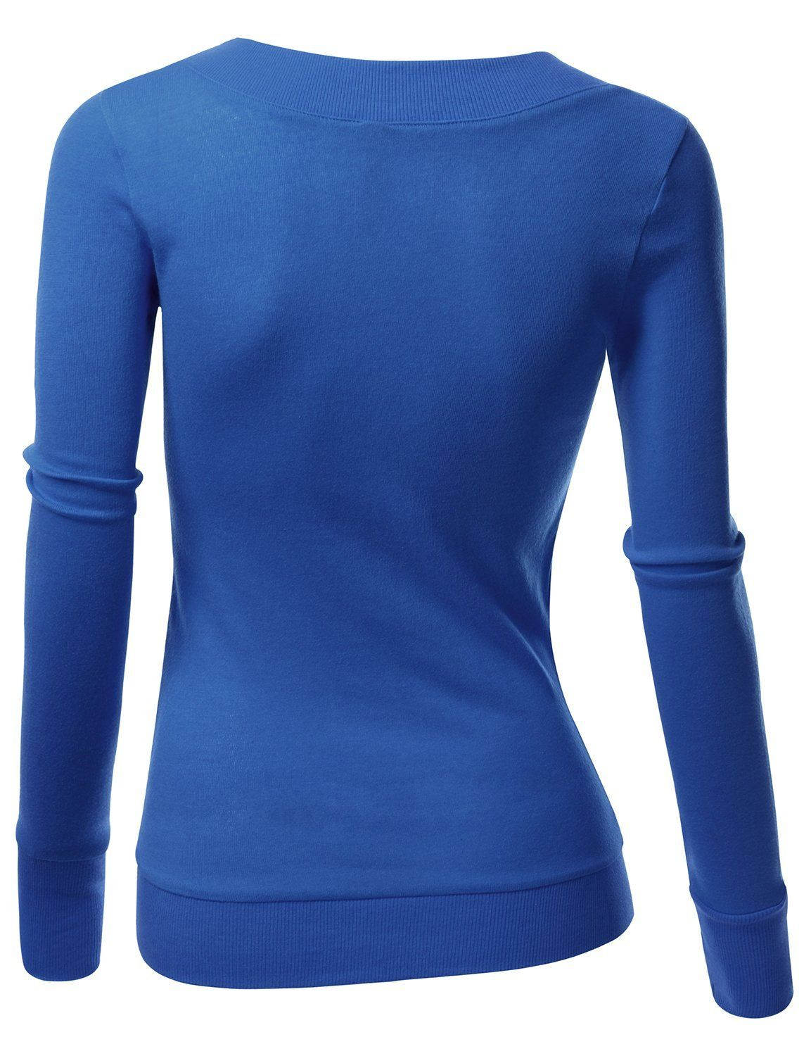 5f3a0a48e6830 Doublju Womens Long Sleeve Thermal Top With Button Detail at cuffs at  Amazon Women s Clothing store